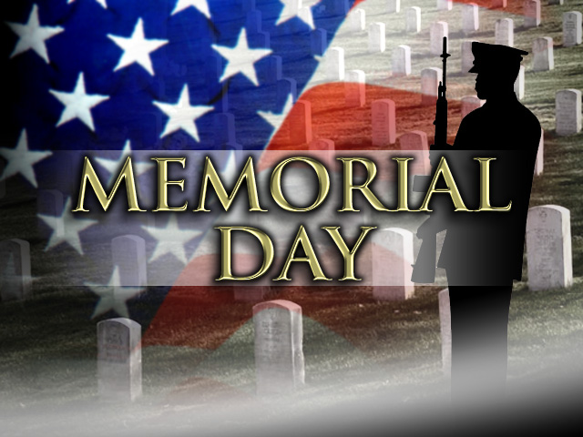 Memorial Day Weekend: Library Closed