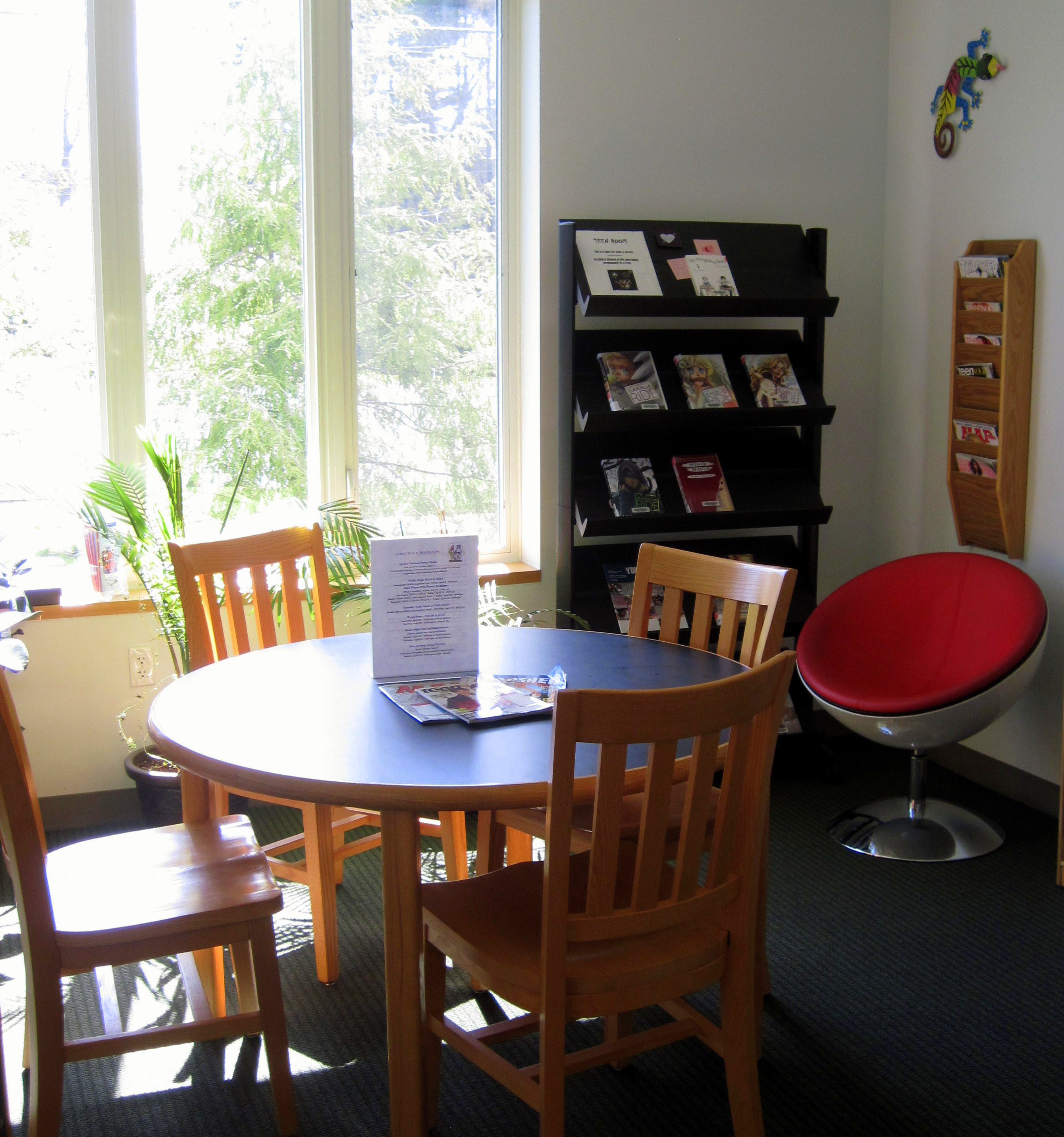 Malta Teen Room With Study Table And Display Rack Of New Young Adult Books